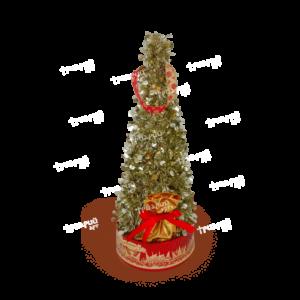 Комбинированная упаковка «Новогодняя Ёлка»