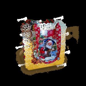Коробка фигурная «Новогодняя Открытка»