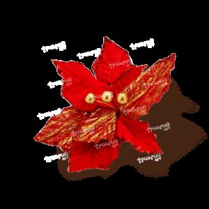 Коллаж «Рождественский Цветок»