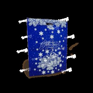 Пакет «Снегири» - Синий
