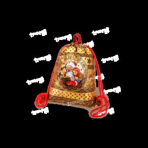 Рюкзачок из лессированного текстиля «Дедушкины Сказки» - золотой