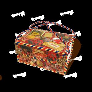 Коробка на магните «Лично в руки!» - красная
