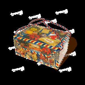 Коробка на магните «Лично в руки!» - синяя