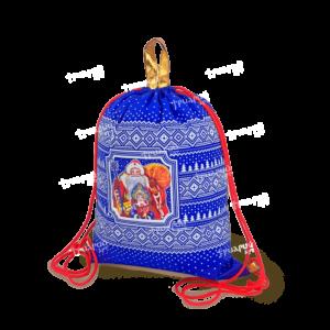 Рюкзак из текстиля «Русский Север» - синий