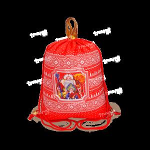 Рюкзак из текстиля «Русский Север» - красный