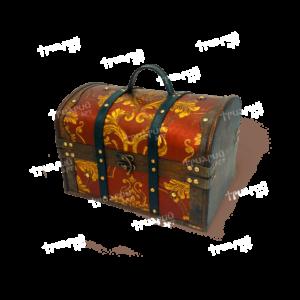 Новогодняя упаковка «Сундук Деда Мороза»