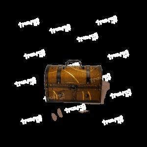 Новогодняя упаковка сундучок «Антик Мулен Руж» - Мини