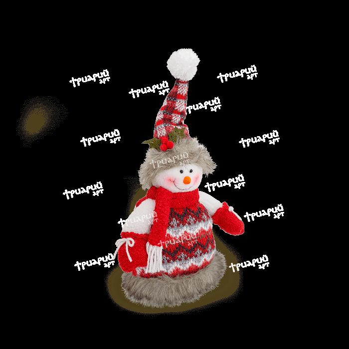 Мягкая игрушка «Снежок» - Средний