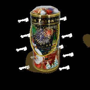 Новогодняя упаковка туба «Кремлёвская»