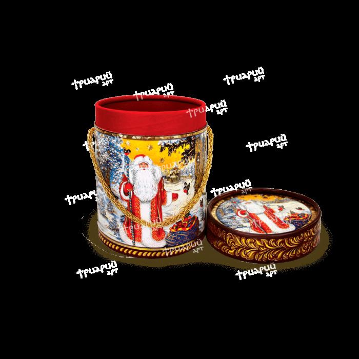 Новогодняя упаковка туба «Зимний Лес»