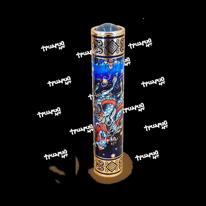 Вариоскоп «Волшебный Праздник» с круглой линзой и тиснением