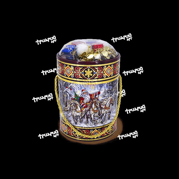 Новогодняя упаковка туба «Мороз Иваныч»
