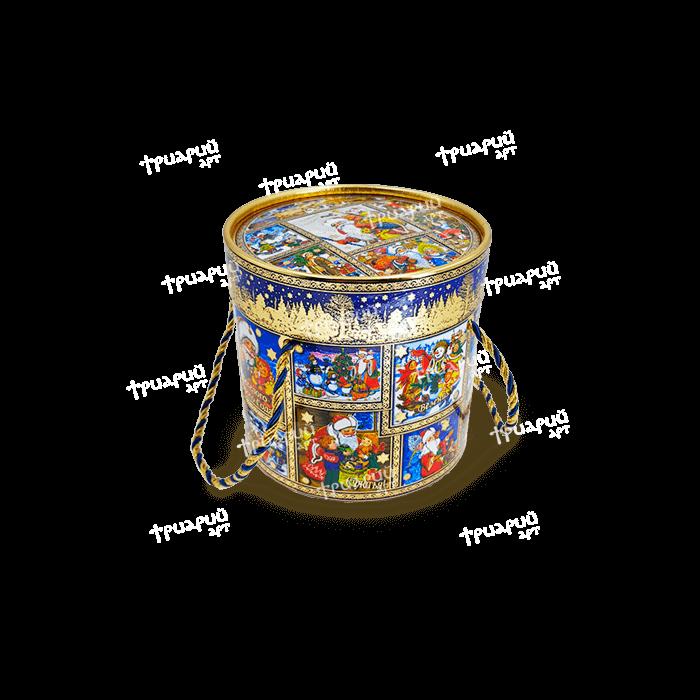 Новогодняя упаковка туба «Новогоднее Настроение» Маленькая