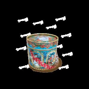 Новогодняя упаковка туба «Серебряные Колокольчики» Маленькая
