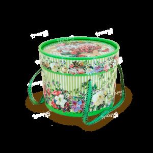 Упаковка для презентов туба «Золотой Век» Средняя