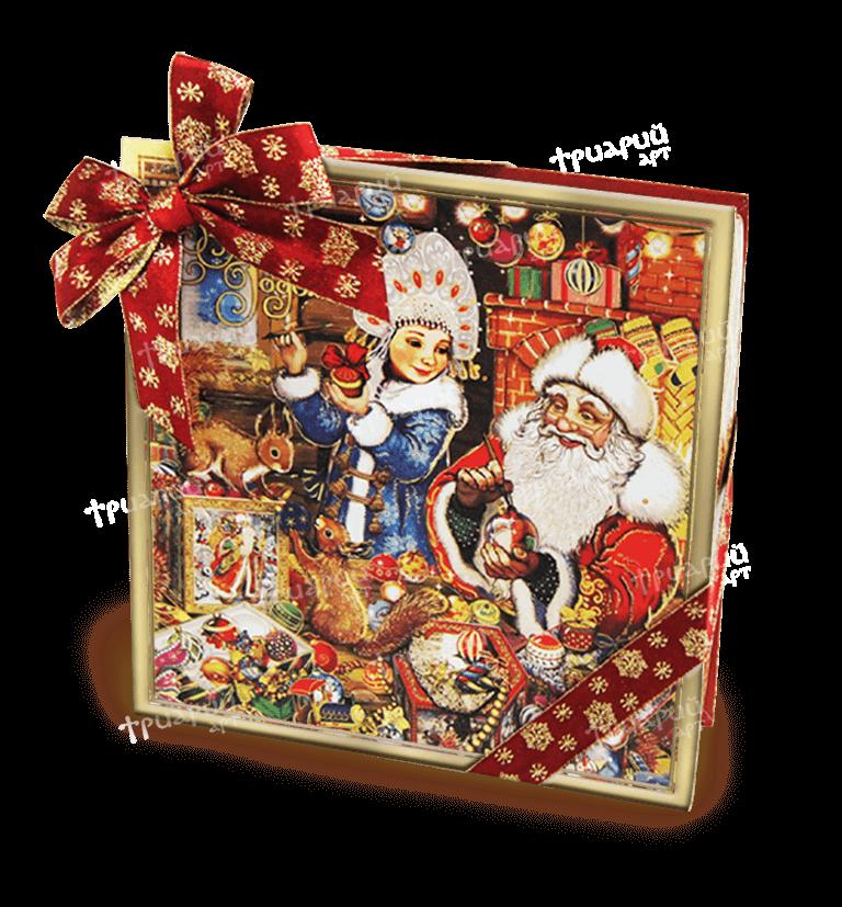 Новогодняя упаковка коробка «Скоро, скоро Новый Год!» - большая