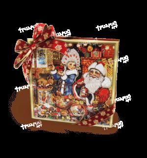 Новогодняя упаковка коробка «Скоро, скоро Новый Год!» - маленькая