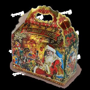 Новогодняя упаковка сундучок «Приключения Игрушек»