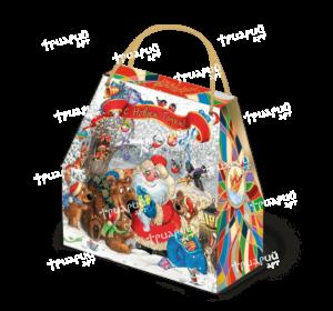 Новогодняя упаковка сумочка «У Медведей»