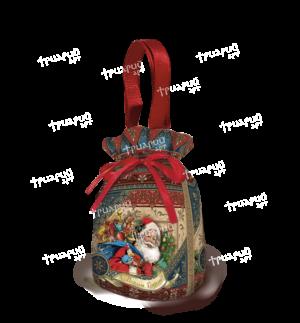 Новогодняя упаковка мешочек «Дарите Счастье!»
