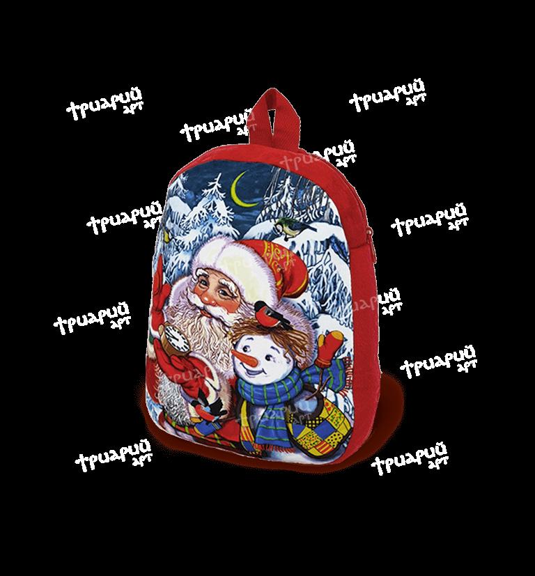 Новогодняя упаковка рюкзачок «Чудесные мгновения» - малый