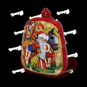 Новогодняя упаковка рюкзачок «На праздник к детям» - большой