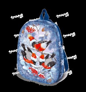 Новогодняя упаковка рюкзачок «Зимняя Рябина» - средний