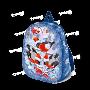 Новогодняя упаковка рюкзачок «Зимняя Рябина» - маленький