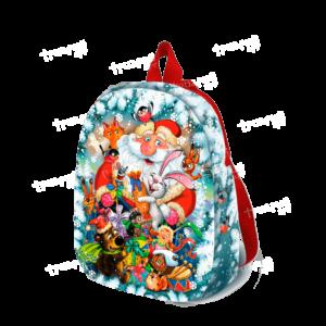 Новогодняя упаковка рюкзачок «С Друзьями» - маленький