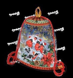Рюкзачок из лессированного текстиля «Снежный»