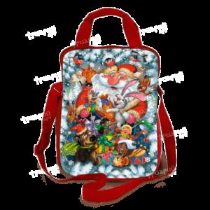 Новогодняя упаковка сумочка «С Друзьями»