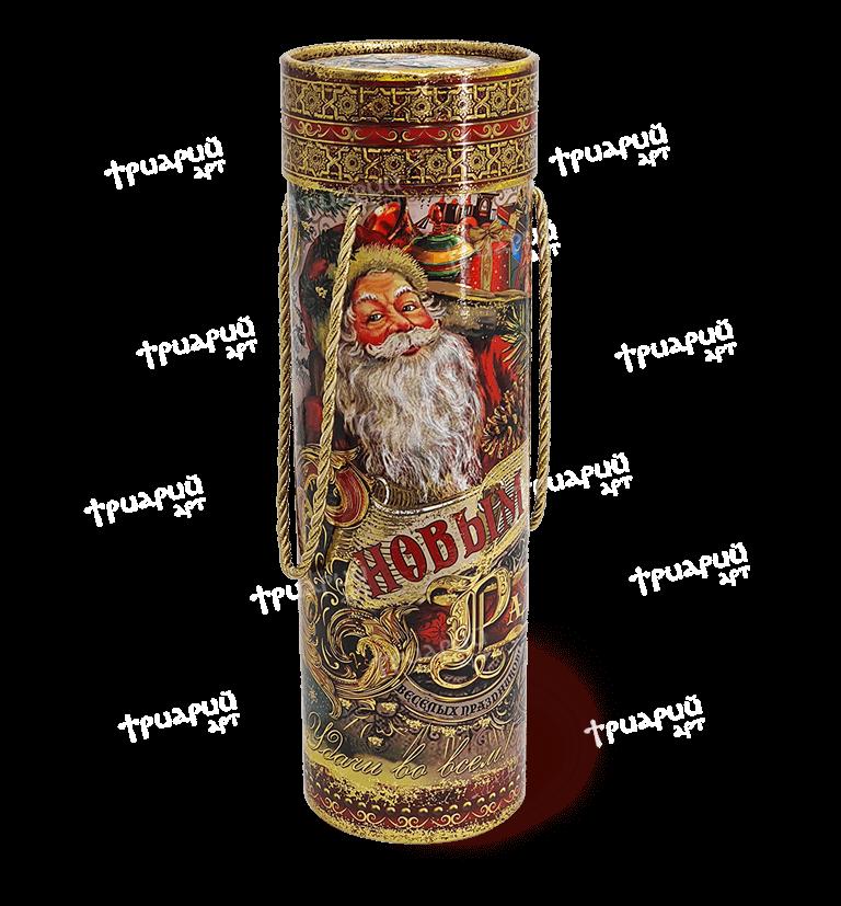 Новогодняя упаковка туба «Счастья и радости!» - большая