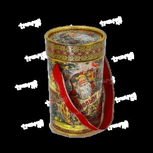Новогодняя упаковка туба «Счастья и радости!» - маленькая