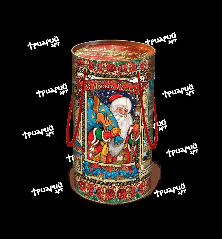 Новогодняя упаковка туба «Чудеса»
