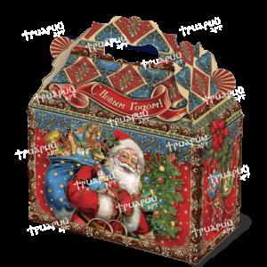 Новогодняя упаковка cундучок «Дарите Счастье!»
