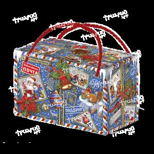 Новогодняя упаковка посылка «Кому-то очень хорошему…» - синий
