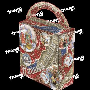 Новогодняя упаковка сумочка «Поверь в мечту!»