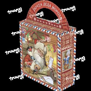Новогодняя упаковка сумочка «Почта Деда Мороза»