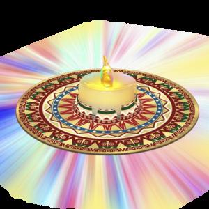 «Свеча с подсвечником»