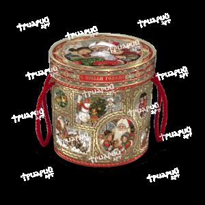 Новогодняя упаковка туба «Поверь в Чудеса» - маленькая
