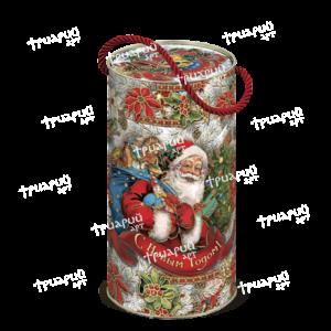 Новогодняя упаковка туба «Дарите счастье!»