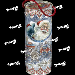 Новогодняя упаковка туба «Ледяная»